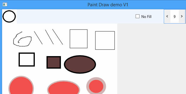 Delphi XE6 Firemonkey Draw Paint Demo